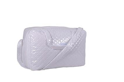 Trapitos. Bolsa maleta plastificada, blanca: Amazon.es: Bebé