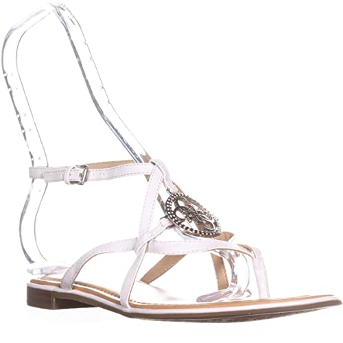 c8d5920b5fda G by GUESS Womens Romie3 Open Toe Casual Ankle Strap Sandals