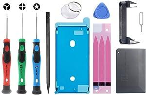 HONGYU Smartphone Spare Parts JF-8158 11 in 1 Battery Repair Tool Set for iPhone 6s Plus Repair Parts