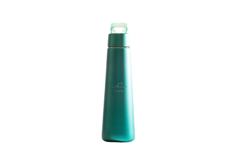boatella ® Suavé – ターコイズブルー、断熱ステンレススチールボトル、13.5 Oz   B07BHWMX79