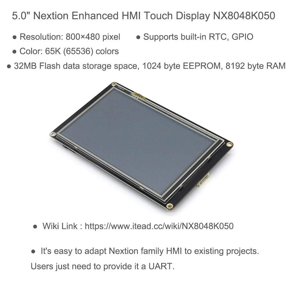 Amazon com: Nextion Enhanced 5 0