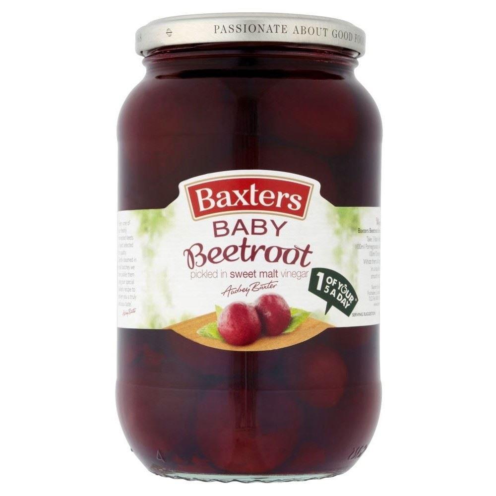 Baxters Baby Beetroot in Sweet Vinegar (567g) - Pack of 2 Grocery