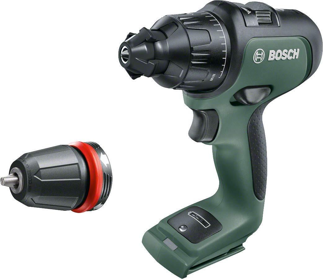 Bosch 06039B5104 Perceuse-visseuse à percussion sans fil AdvancedImpact 18, outil seul sans batterie 18V, HMI