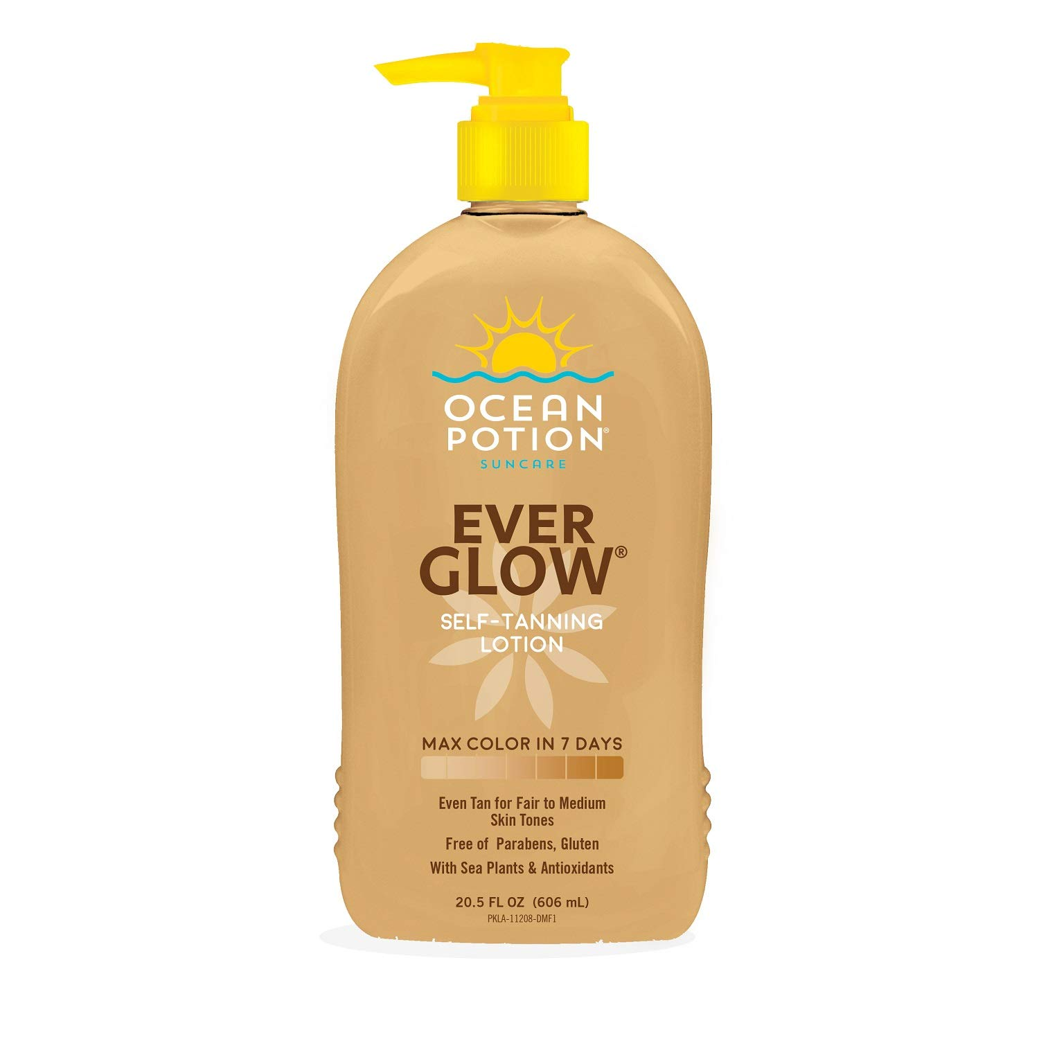2 Pack Ocean Potion Ever Glow Daily Moisturizing Lotion With Gentle Skin Darkener 20 5 Ounces 2 Pack Amazon In Beauty