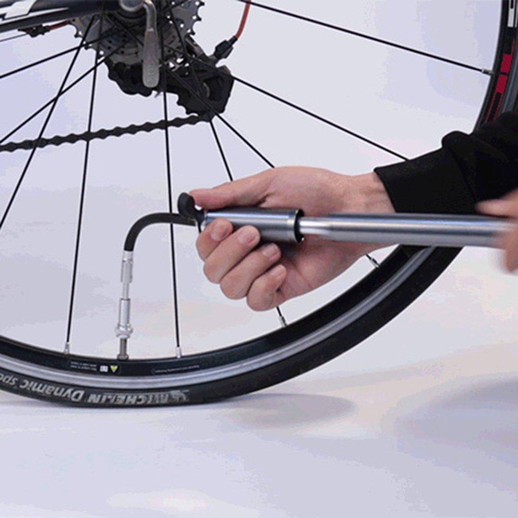 LUFA Portable Mini Bike Pump Hand Push Bicycle Tire Pump Bikes Air Inflator Motorbike Tyre Pump for wheelup
