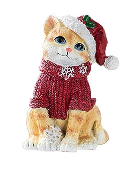 Adornos de gato rojo adornos de gato amarillo gatito regalo ...
