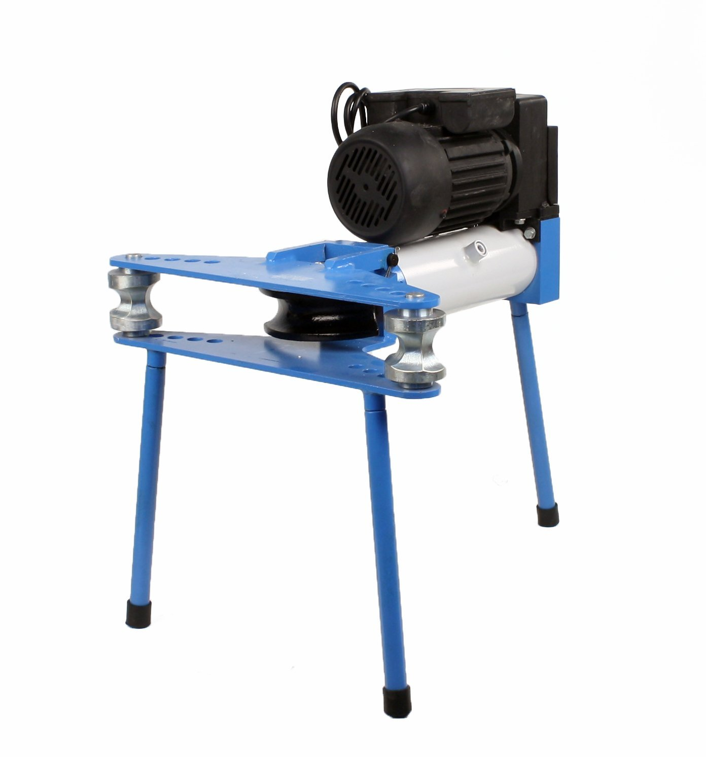 Erie Tools Electric 10-Ton Hydraulic Pipe Tube Bender With Six Bending Dies 1/2''-2'' And 110 V Motor