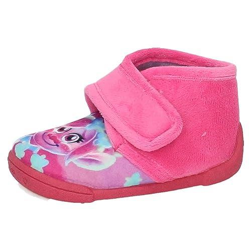 ZAPATOP 2525 Botitas Trolls Poppy NIÑA Zapatillas CASA: Amazon.es: Zapatos y complementos