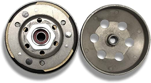 Sanlan Complete Clutch Assembly Rear Clutch Driven Pully for GY6 49cc 50c 139QMB Scooter