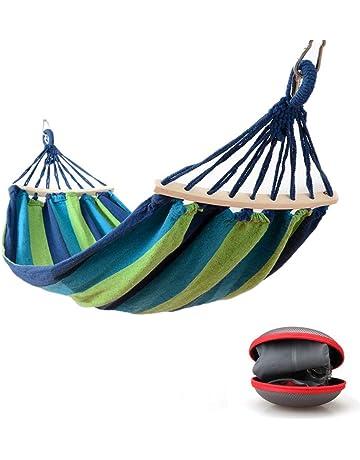 90334bbf8 EASY EAGLE Hamaca Colgante para Jardin Camping | MAX 300kg de Capacidad de  Carga, (