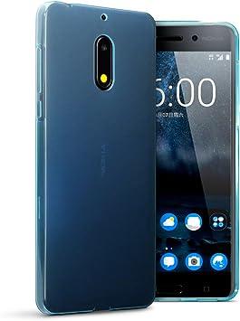 Funda Compatible con Nokia 6 Funda Protectiva de Silicona Gel TPU ...