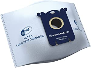 Philips S-Bag FC8027/01 Vacuum Cleaner Bags Ultra-Long Performance 80% Longer-Lasting Compatible with Phillips/Electrolux/Tornado