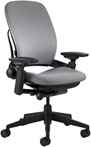 Steelcase Leap Chair, Grey Fabric -