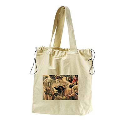 Salome (Lovis Corinth) Canvas Drawstring Beach Tote Bag