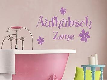 Wandtattoo Bilder® Wandtattoo Aufhübsch Zone Nr 1 Badezimmer Toiletten Wanddeko  Bad Aufkleber Bad