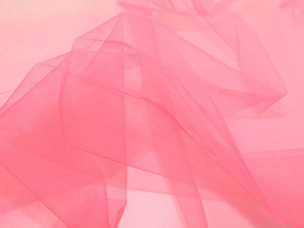 100/% Nylon Dress Net Fabric Black Sold by the Metre