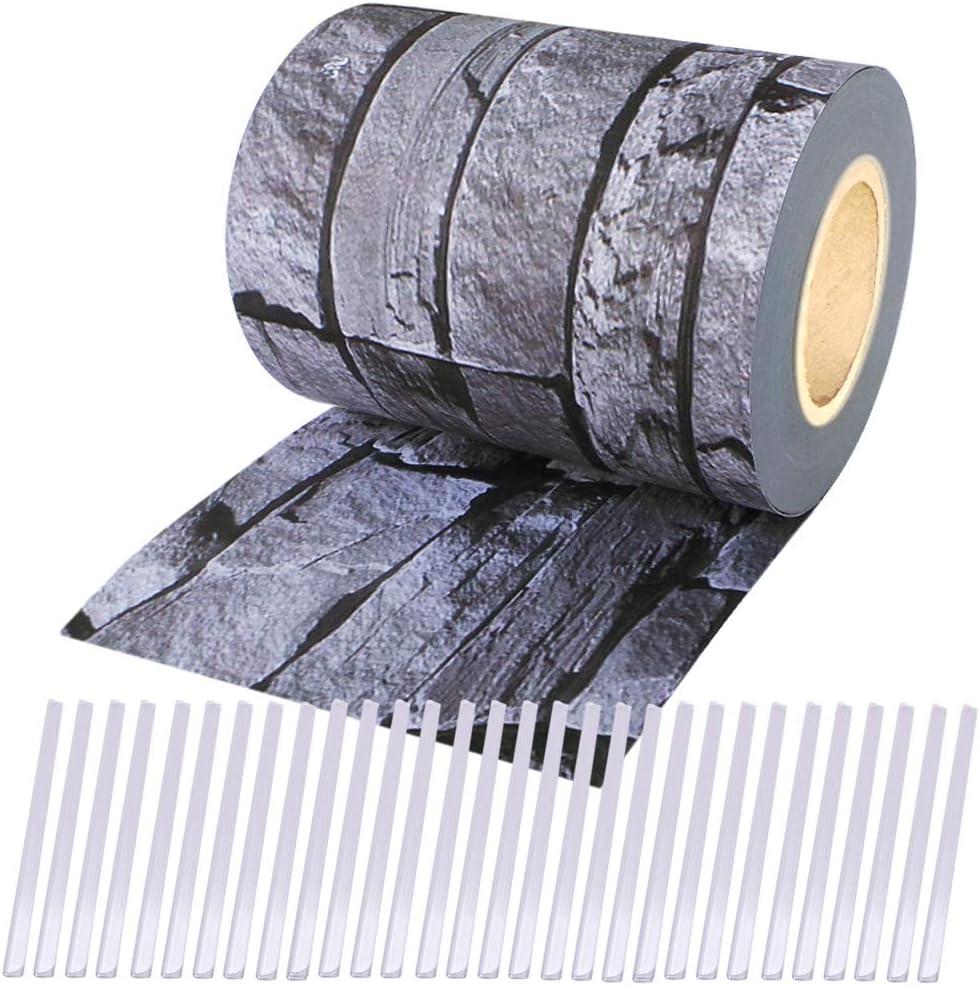 Sichtschutz Rolle PVC Zaunfolie für Doppelstabmatten Zaun Streifen 50M 19CM