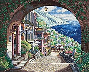 Dimensions Needlecrafts Counted Cross Stitch, Coastal View