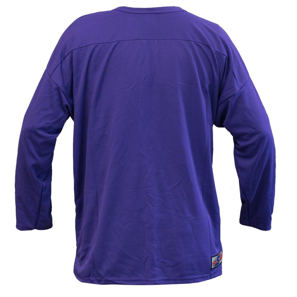 best service bf0a0 12d67 Hockey Practice Jersey (Purple, Goalie Cut), Training ...