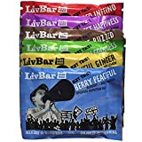 LivBar Nutrition Health Food Bars - High Protein Organic Gluten-Free Superfood (Variety)