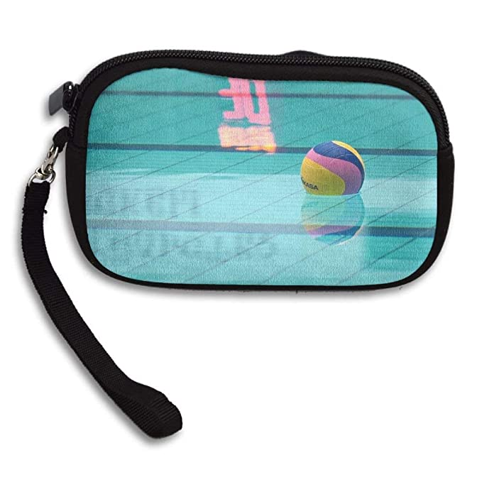 f316166648afb Amazon.com  Small Wallet Hand-held Belt Zipper Floating Water Polo ...