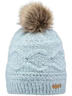 cc72b7934a3 Barts Hats Corduroy Rib Faux Fur Trapper Hat - Pink 1-Size  Amazon ...