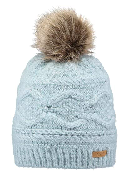 Barts Hats Antonia Faux Fur Bobble Hat - Blue 1-Size  Amazon.co.uk ... 75507d8a2c6