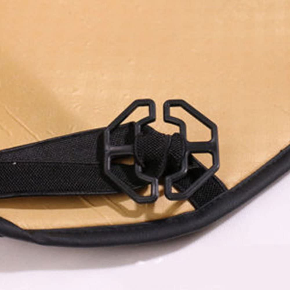 schwarz Leaftree PU Universal-Leder-Autositz-Schutz-Auflage-Luxusauto-Abdeckungs-Fahrzeug-Sitzkissen
