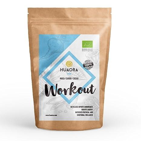 Huaora Workout - Aumentar la energía y el rendimiento en ejercicios de fuerza - Recuperar el