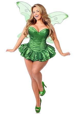 5d6e8068 Amazon.com: Daisy corsets Women's Top Drawer 2 Pc Glitter Fairy Corset  Dress Costume: Clothing