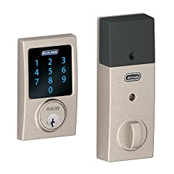 The Best Touchscreen Deadbolt - Schlage Touchscreen - Our Pick