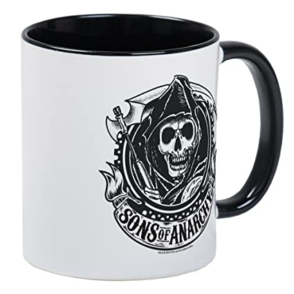 85e0f7614d9 Amazon.com  CafePress - Sons Of Anarchy Mug - Unique Coffee Mug ...