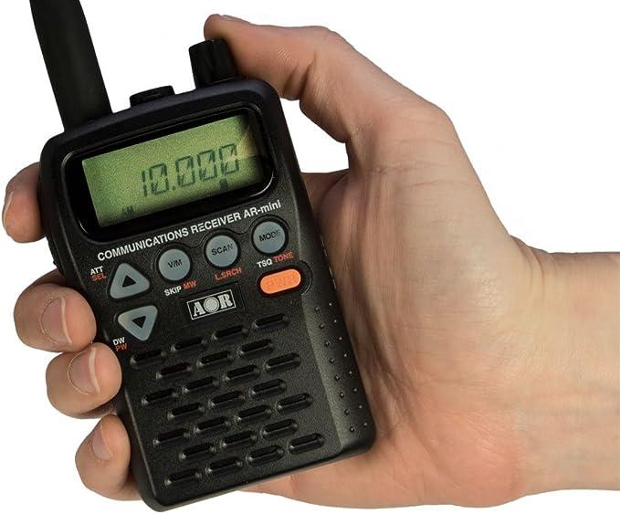 AOR AR-MINI RECEPTOR ESCANER PORTATIL de 100 kHz a 1299.995 Mhz