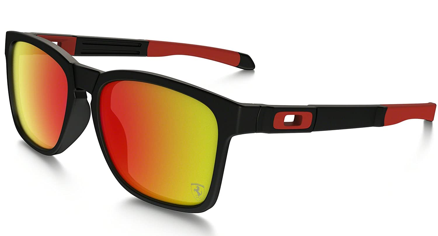 (オークリー) OAKLEY サングラス メンズ CATALYST (Asia Fit) B01M1Y5AOA One Size|Matte Black/Ruby Iridium Matte Black/Ruby Iridium One Size