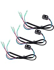 amazon outboard motors boat motors sports outdoors Yamaha 20 HP Outboard Review baosity 3 pieces 703 82563 02 00 trim tilt switch fit for yamaha