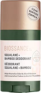 product image for Biossance Squalane + Bamboo Deodorant - Clean, Non-Toxic Deodorant with No Baking Soda + No Aluminum - Vegan, Cruelty-Free, Fragrance-Free (50g)