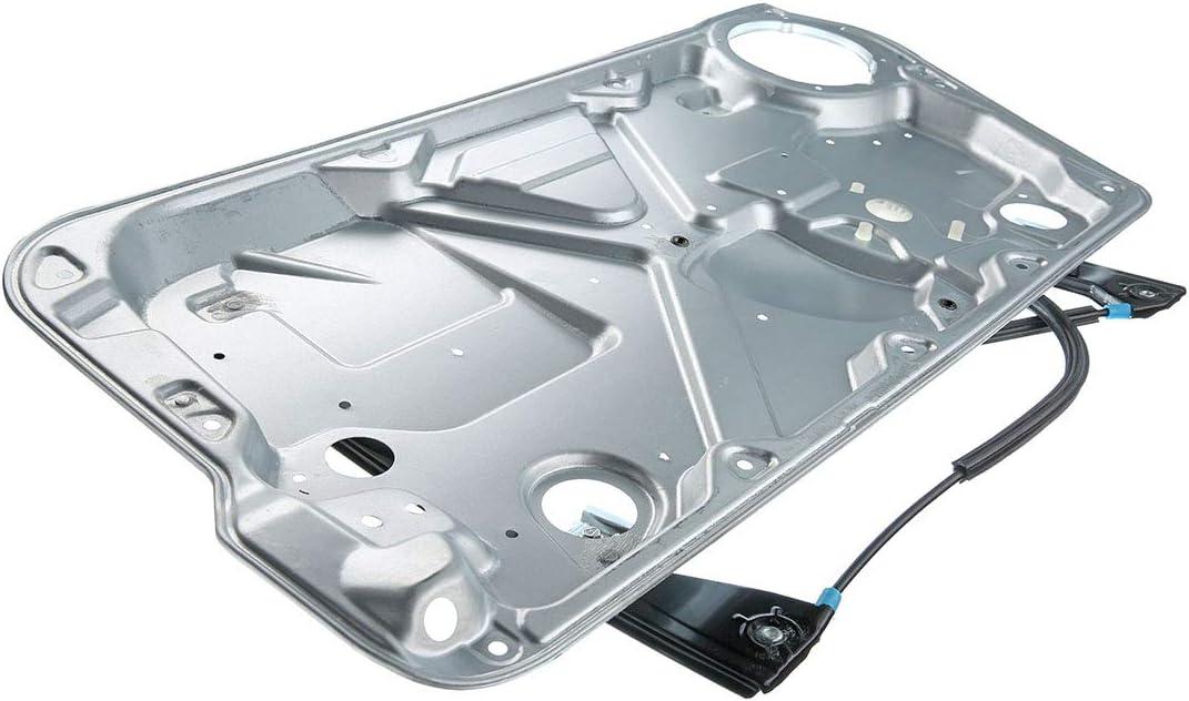 A-Premium Power Window Regulator and Door Panel without Motor for Volkswagen Beetle 1998-2010 Front Left Driver Side