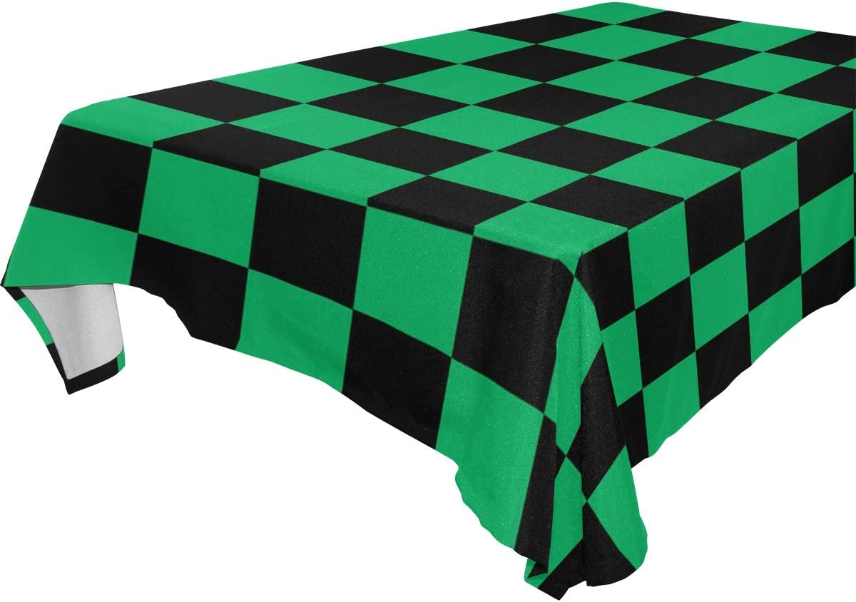 Green Tartan w//Black Backing Fashion Horse Halter