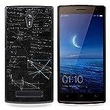/Skull Market/ - Mathematics Black Boeard Geometrics Art For Oppo Find 7 X9007 - Hand Painted Custom Luxury Cover Case -