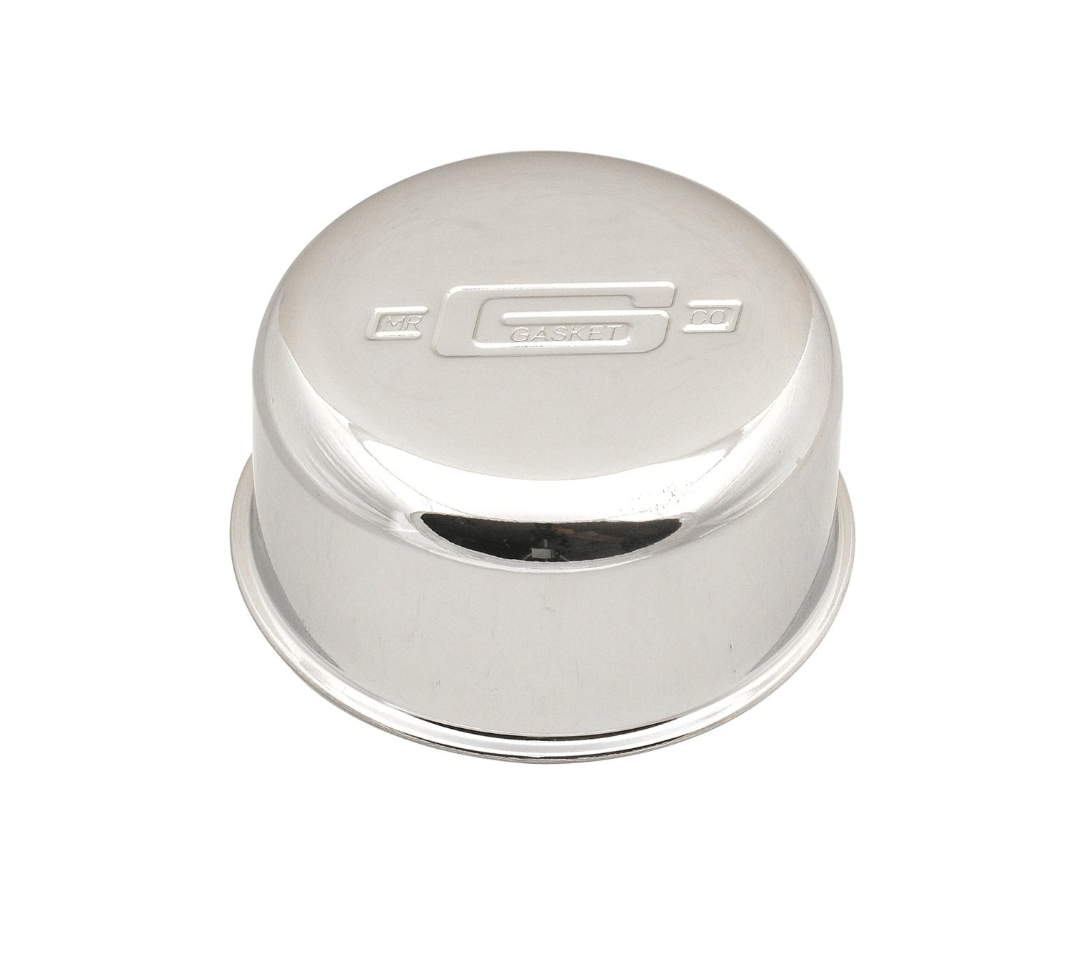 Mr. Gasket 2057 High Performance Push-On Breather - Chrome Mr Gasket