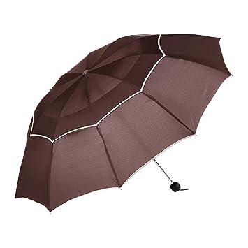 Folding Umbrella Paraguas Hombre Lluvia Mujer Cortavientos Grande Hombre Mujer Sol 3 Plegable Grande Paraguas Exterior