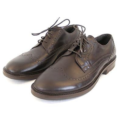 Herren Schuhe Schnürhalbschuhe Magnate Leder Dunkelbraun 11773 Fußbett, Größe:44 Naot