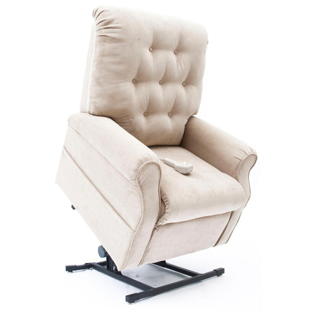 Easy Comfort Lift Chairs 2-Position Lift and Recline Chair, Tan