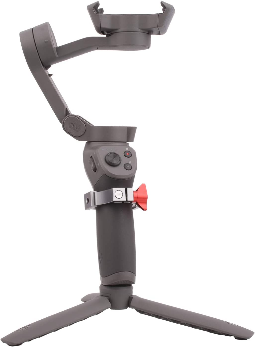"Applied to Microphone and LED Light Accessory Via 2 Cold Shoe Mount /& Three 1//4/"" Thread Ports Woohoto O-Ring Hot Shoe Adapter for DJI Osmo Mobile 3"