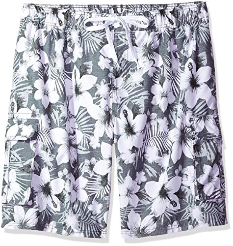 98a91249cd075 Galleon - Kanu Surf Men's Miles Swim Trunks (Regular & Extended Sizes),  Dominica Charcoal, 3X