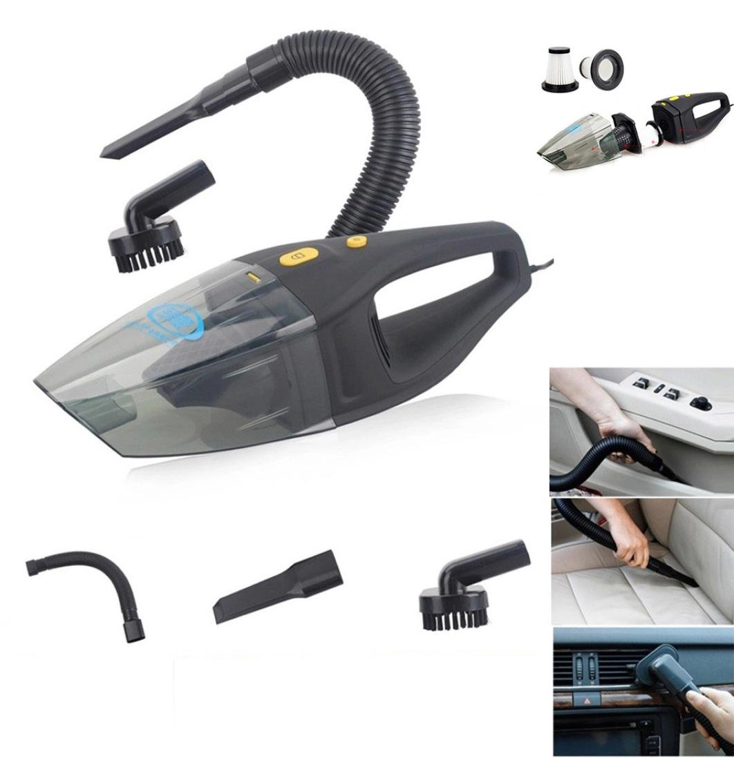 Iuhan® Fashion High Power DC12 Volt Auto Car Wet / Dry Vacuum Cleaner 120W Mini Portable