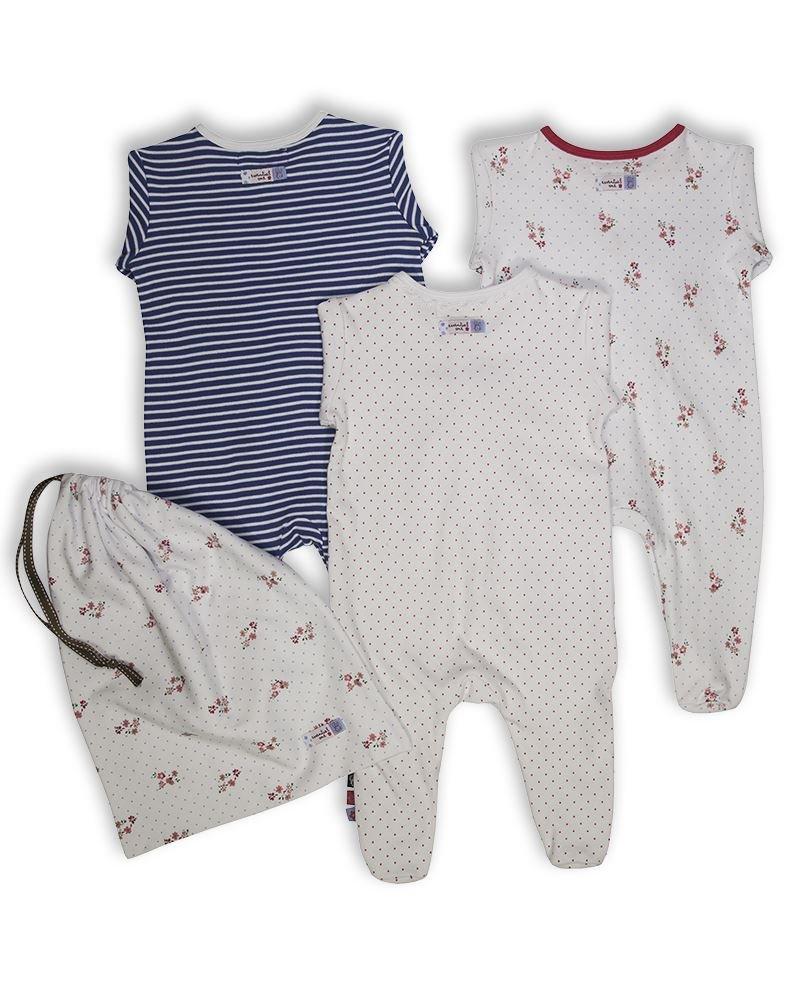 0f5b135d4 The Essential One - Pijama para bebé - Paquete de 3-12-18 meses