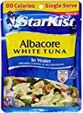 StarKist Albacore White Tuna in Water, 2.6-Ounce Pouch (Pack of 10)