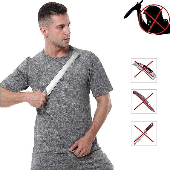 TBDLG Chaleco Ligero de puñalada, Fuerza elástica Camiseta funcionales Seguridad Gilet, con protección para el Cuerpo Hombres Mujeres Policía,M: Amazon.es: Hogar