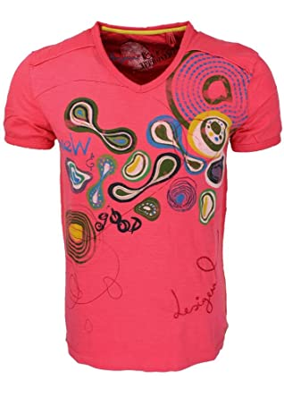 Desigual - Desigual T-shirt Manolo Flowers 21t1419 3122 Homme - H - Xl 8d717b33d056